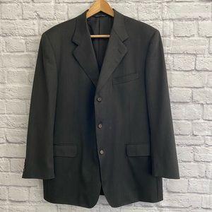 CANALI Designer Men's Wool Blazer Suit Jacket